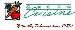Green Cuisine Naturally Delicious Since 1983