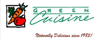 Green Cuisine - Naturally Delicious Since 1983